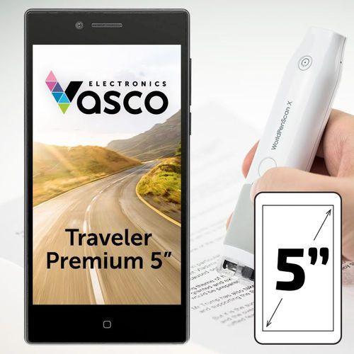 """Vasco electronics Vasco traveler premium 5"""" ze skanerem"""