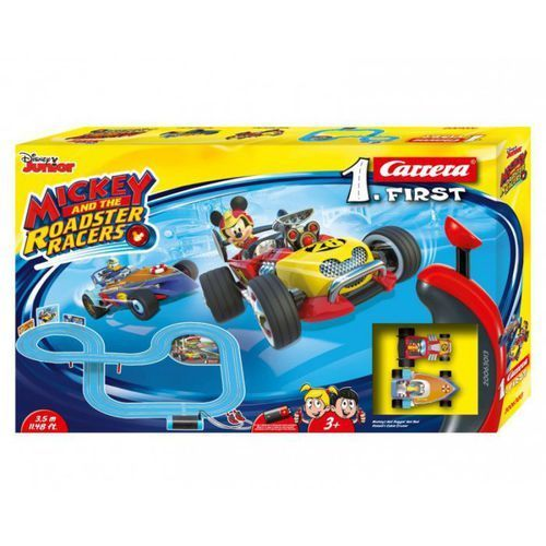 Carrera Tor samochodowy carrera 1. first - mickey and the roadster racers 63013 (4007486630130)