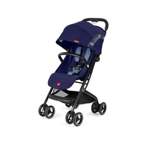 Gb gold wózek spacerowy qbit sapphire blue-navy blue