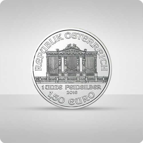 Wiedeńscy Filharmonicy 1 uncja srebra - wysyłka 24 h! - 24h