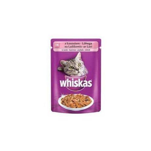 łosoś w sosie 100g / codziennie nowa oferta dnia - sprawdź! wyprodukowany przez Whiskas