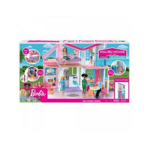 Domek Barbie Malibu - DARMOWA DOSTAWA!!!