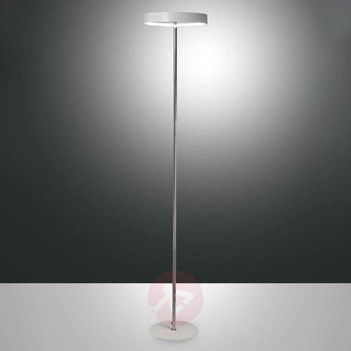 Ściemniana lampa stojąca LED Double, wbud. ściemn.