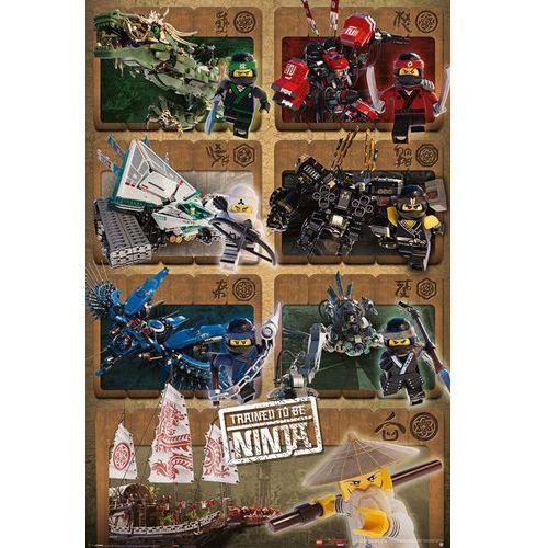 Lego® ninjago movie ninjas & mechs - plakat z filmu marki Galeria