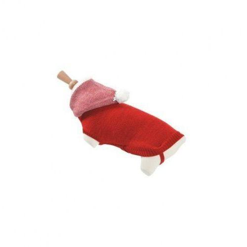 Zolux sweterek z kapturem t35 czerwony - darmowa dostawa od 95 zł!