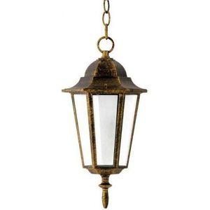 Alu1047hp - lampa wisząca zewnętrzna liguria e27/60w/230v marki Polux