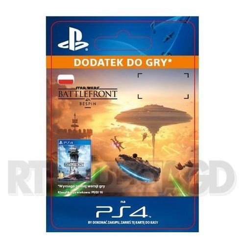 Star wars battlefront - bespin dlc [kod aktywacyjny] marki Sony