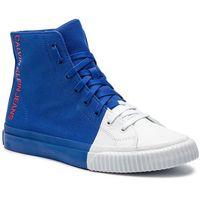 Sneakersy CALVIN KLEIN JEANS - Ivor S0599 Nautical Blue/Bright, w 4 rozmiarach