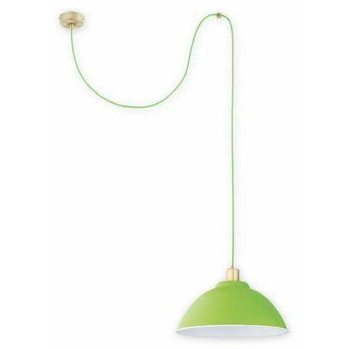 Lemir Zts O2831 W1 Pat + Zie [D] lampa wisząca zwis 1X60W E27 patyna+zielony