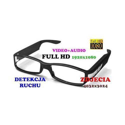 Szpiegowskie Okulary FULL HD Nagrywające Obraz i Dźwięk + Detekcja Ruchu itd.