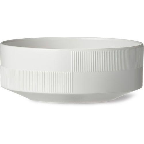 Miska porcelanowa Duet 22,5 cm, biała - Rosendahl (5709513212331)