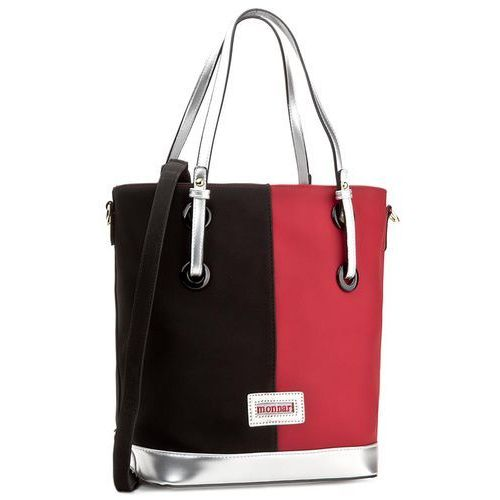 Torebka MONNARI - BAG7100-005 Red With Black, kolor wielokolorowy