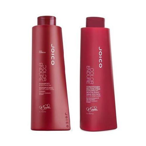 Joico color endure zestaw do włosów farbowanych | szampon 1000ml + odżywka 1000 ml