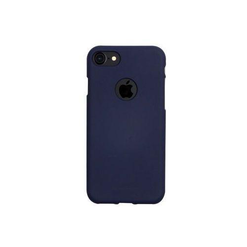 Apple iPhone 8 - etui na telefon Mercury Goospery Soft Feeling - granatowy, kolor niebieski