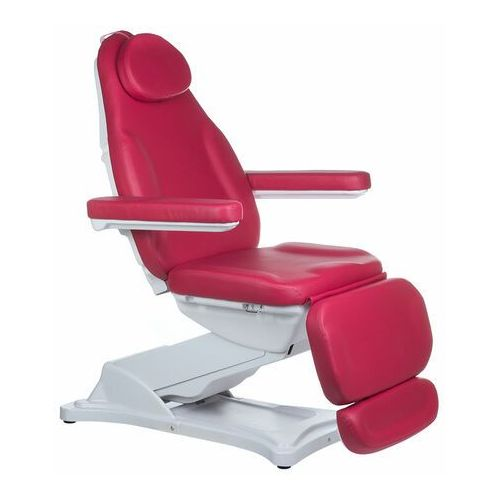 Elektryczny fotel kosmetyczny MODENA BD-8194 Malinowy