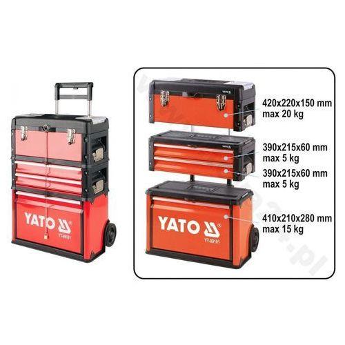 Yato Wózek narzędziowy 3-częściowy yt-09101