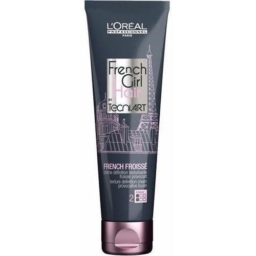 Loreal  french girl hair french froisse | krem teksturyzujacy dający efekt potarganych włosów 150ml