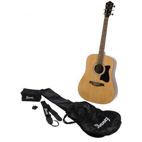 v 50 njp nt gitara akustyczna + pokrowiec marki Ibanez