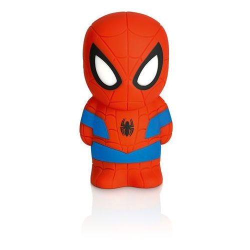 DISNEY - Lampka nocna na baterie Softpal LED Spiderman 12,5cm. Najniższe ceny, najlepsze promocje w sklepach, opinie.