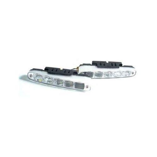 Profesjonalne Halogeny LED (Ścięte), do Jazdy Dziennej, 2x5 LED.