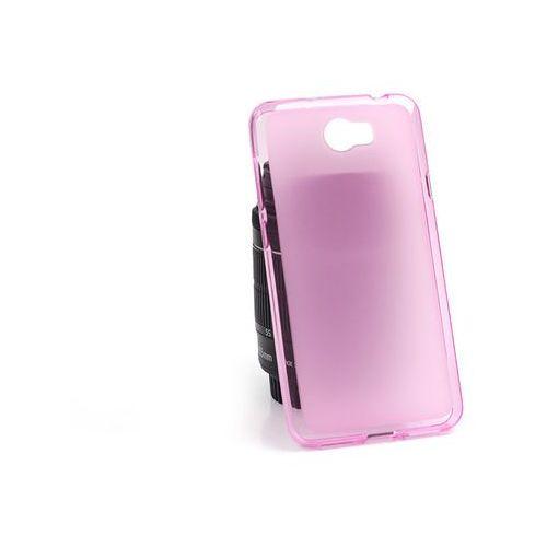 Huawei y6 ii compact - etui na telefon flexmat case - różowy marki Etuo flexmat case