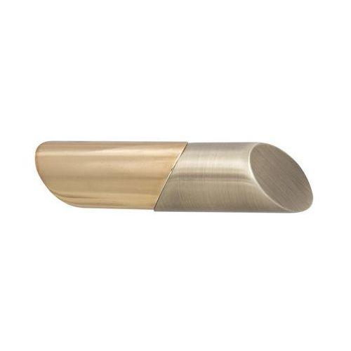 Inspire Końcówka do karnisza lipstic antyczne złoto 20 mm 2 szt.