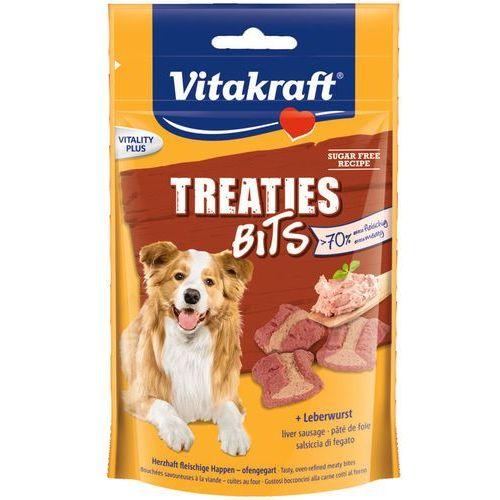 Vitakraft DOG Treaties Bits przysmak dla psa z wątróbką 120g