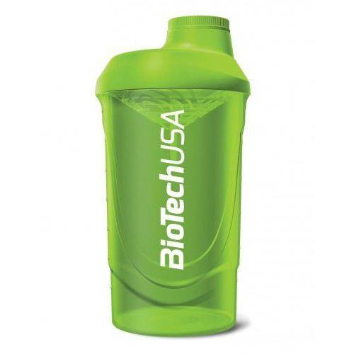 BIOTECH SHAKER 600 ml GREEN, 5999076207459