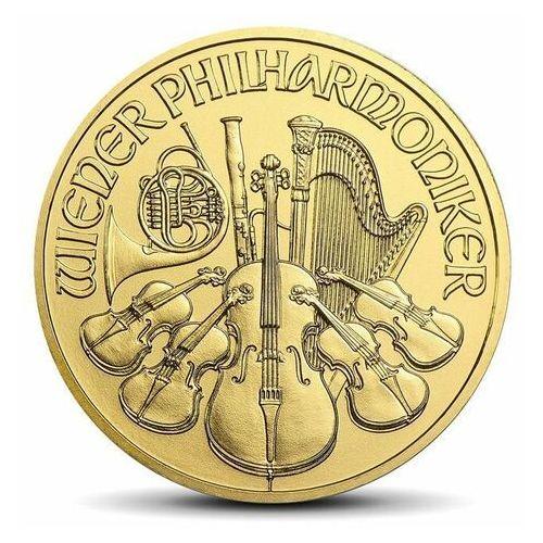 Wiedeńscy filharmonicy 1/10 uncji złota - 15dni marki Münze Österreich