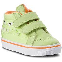 Sneakersy VANS - Sk8-Mid Reissue V VN0A348JU4R (Monster Face) Green/Russet Orange