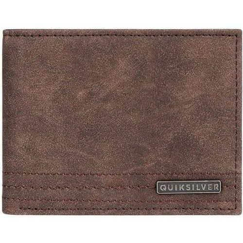 Portfel - stitchy wallet vi chocolate brown (csd0) rozmiar: l marki Quiksilver