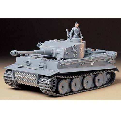 Tamiya German Tiger I Early Production (4950344995653)