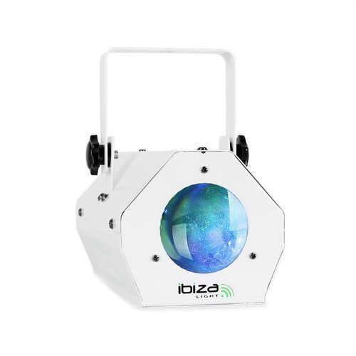 Efekt świetlny Ibiza LCM003LED Moonflower RGBWA biały