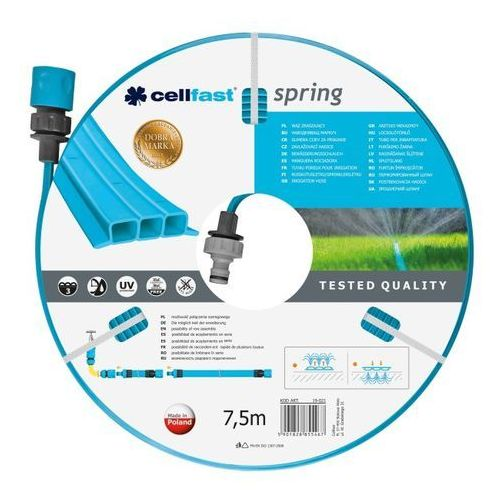Cellfast wąż zraszający spring 7,5m (19-021)