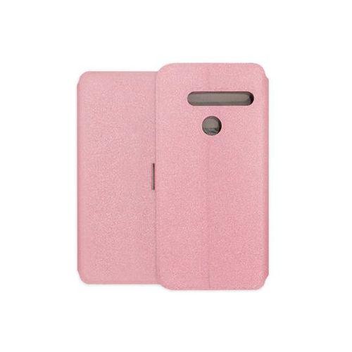 LG G8 ThinQ - etui na telefon Wallet Book - różowy