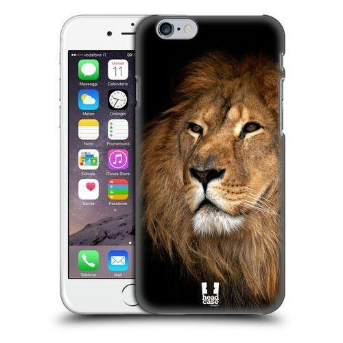Etui plastikowe na telefon - dzikie zwierzęta lew marki Head case