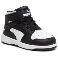 Sneakersy - rebound layup sl v inf 370489 01 puma black/puma white marki Puma