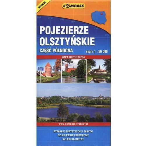 Pojezierze Olsztyńskie część północna mapa turystyczna 1:50 000 (2 str.) - OKAZJE