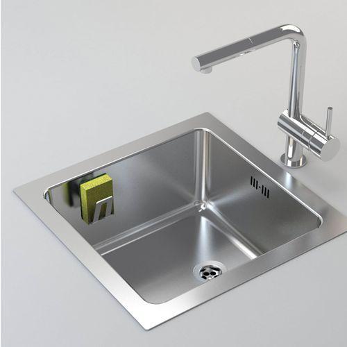 Uchwyt na gąbkę do mycia naczyń Magisso stal, 70106