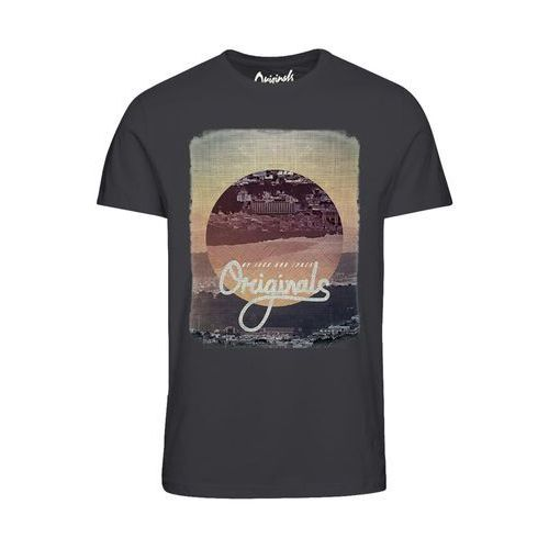 Jack & jones T-shirt okrągły dekolt, krótki rękaw