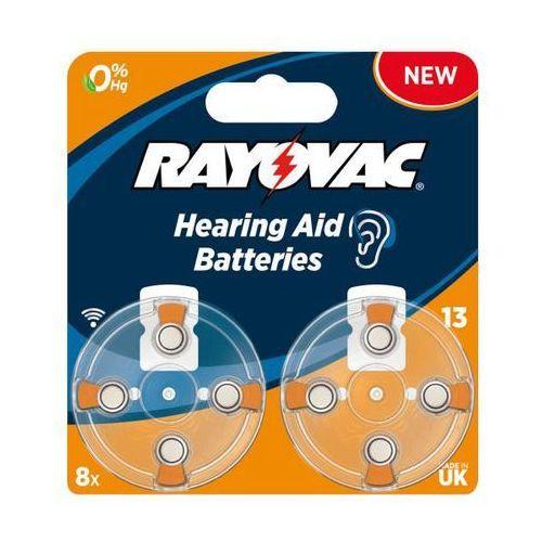 Rayovac baterie do aparatu słuchowego typ 13 (8 szt.) - produkt w magazynie - szybka wysyłka!