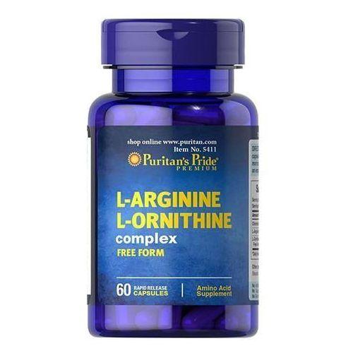 Puritan's Pride L-Arginine L-Ornithine Complex - 60caps