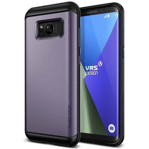 Etui VRS Design Hard Drop Samsung Galaxy S8 Plus Orchid Gray, kolor szary