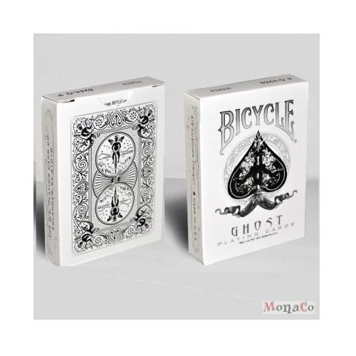 Karty bicycle ghost white - uspc ellusionist karty bicycle ghost white - uspc ellusionist marki Uspcc - u.s. playing card compa