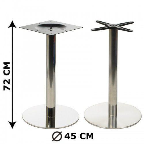Stema - od Podstawa stolika fi45, stal nierdzewna polerowana lub szczotkowana (stelaż stolika) - e11/45/p/s