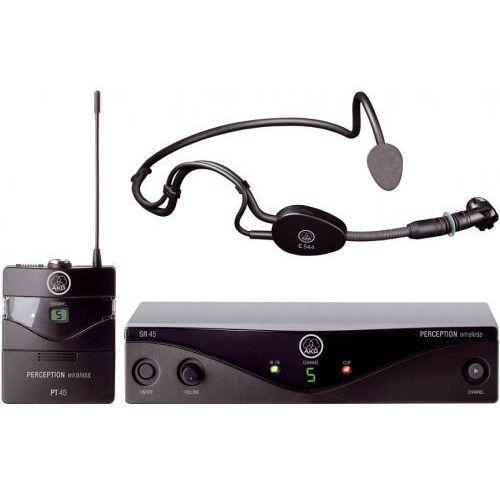 AKG WMS45 Sport Set mikrofon bezprzewodowy nagłowny C-544L, do aerobiku, cz. U2