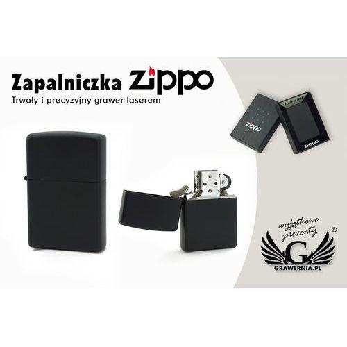 Zapalniczka ZIPPO Black Matte z kategorii Papierośnice i pudełka na cygara
