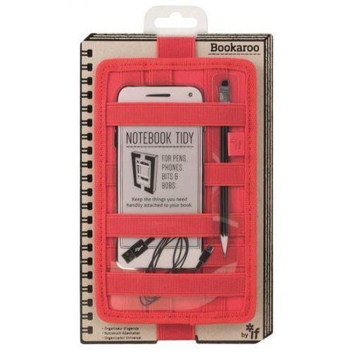 If Bookaroo notebook tidy organizer na notes czerwony (5035393409036)
