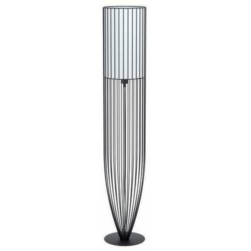 Eglo nosino 99102 lampa stojąca podłogowa 1x60w e27 czarna/biała (9002759991029)