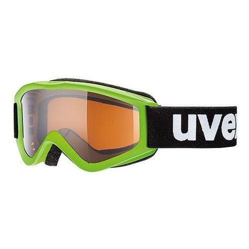 Uvex Dziecięce gogle narciarskie speedy pro zielono czarne